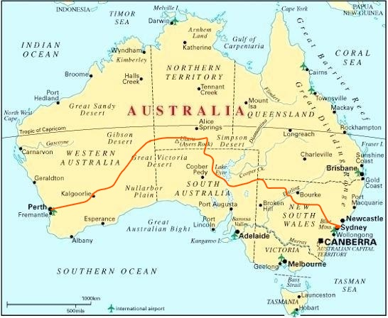 Map Of Australia States And Capital Cities.Map Of Australian States And Capital Cities Amnet
