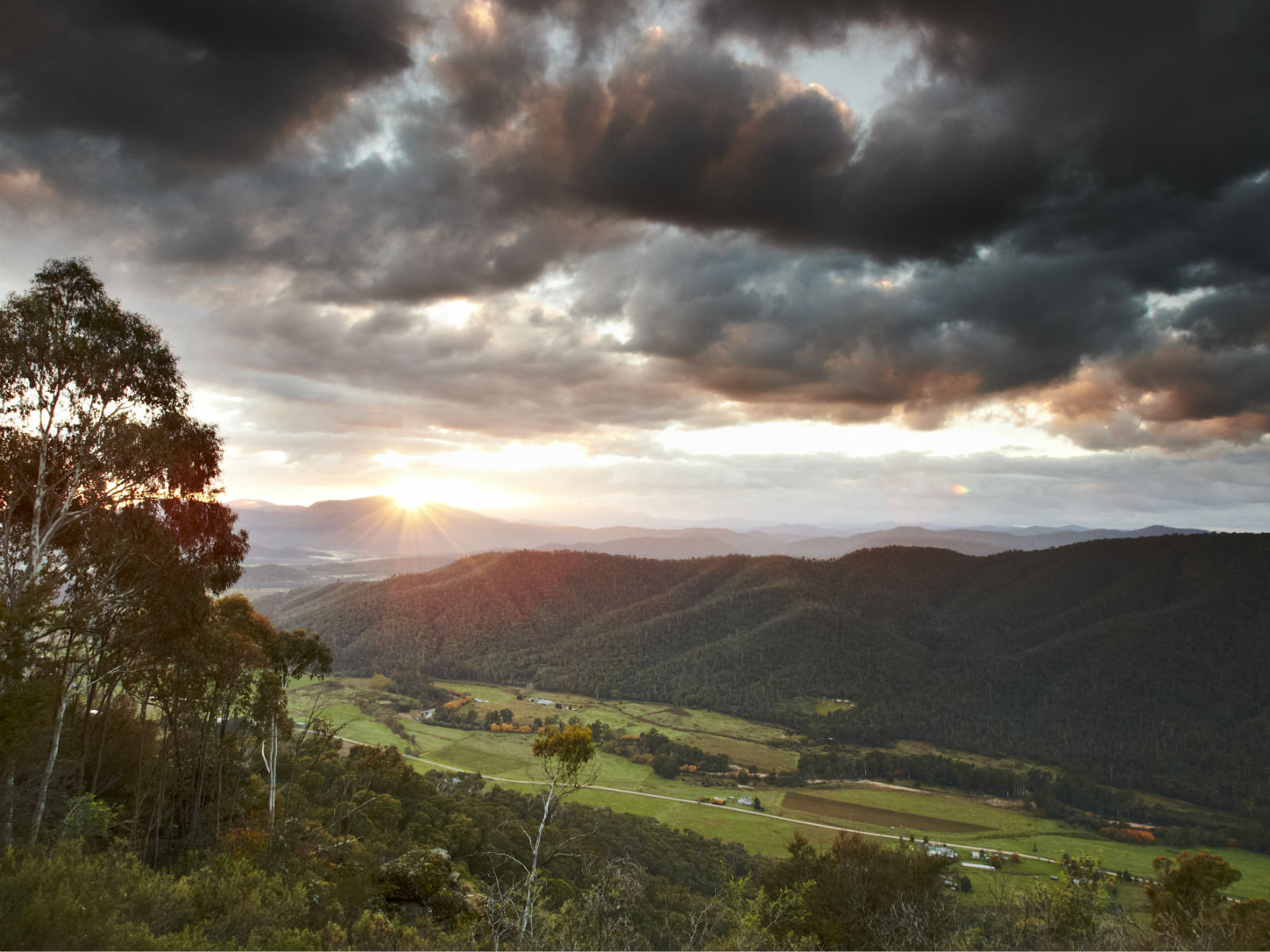 King Valley Lookout